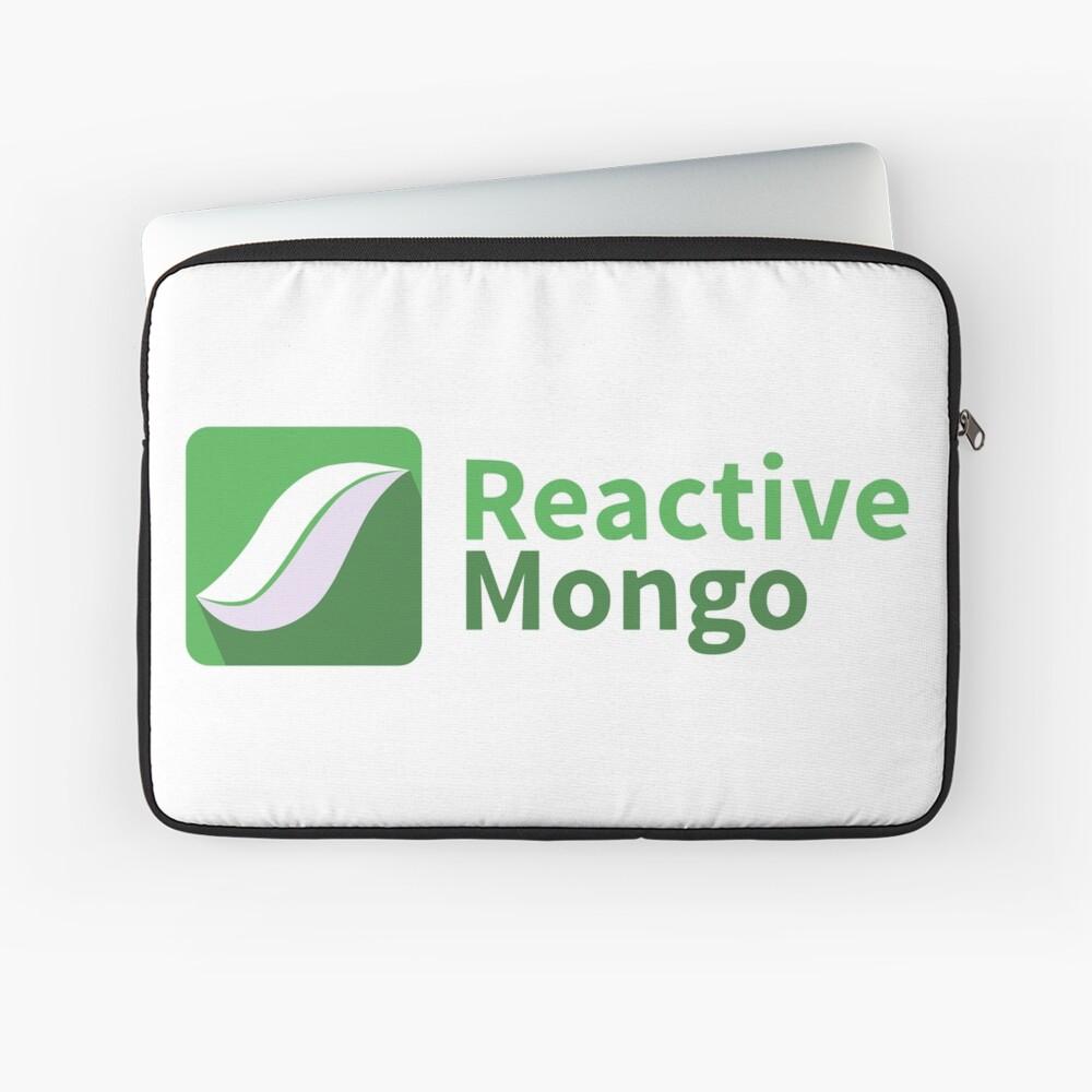 ReactiveMongo Laptop Sleeve