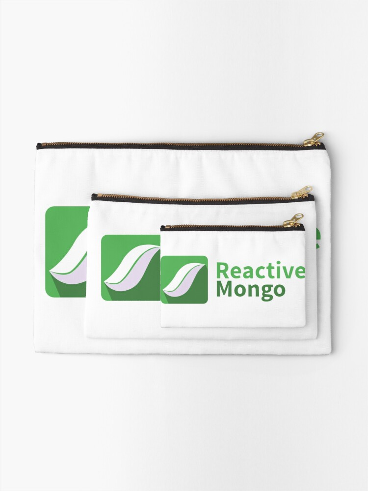 Alternate view of ReactiveMongo Zipper Pouch