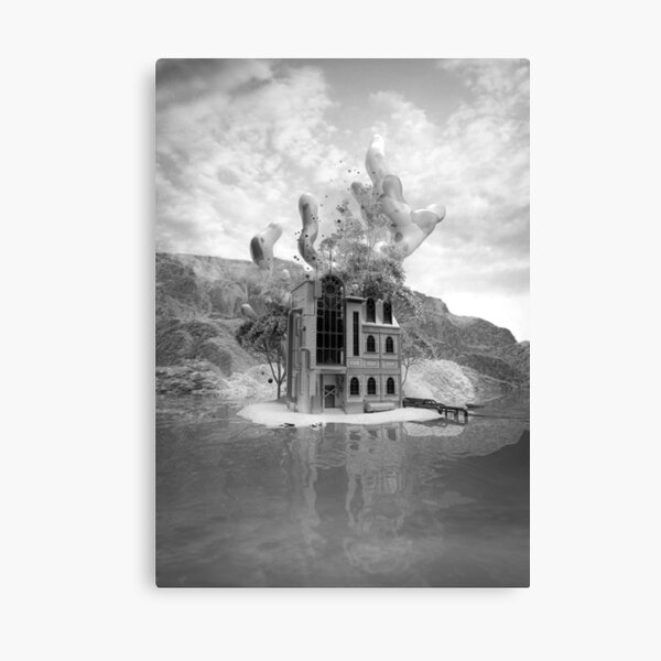 No place like home - monochrome Canvas Print