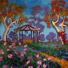 The Rose Garden by Richard  Tuvey