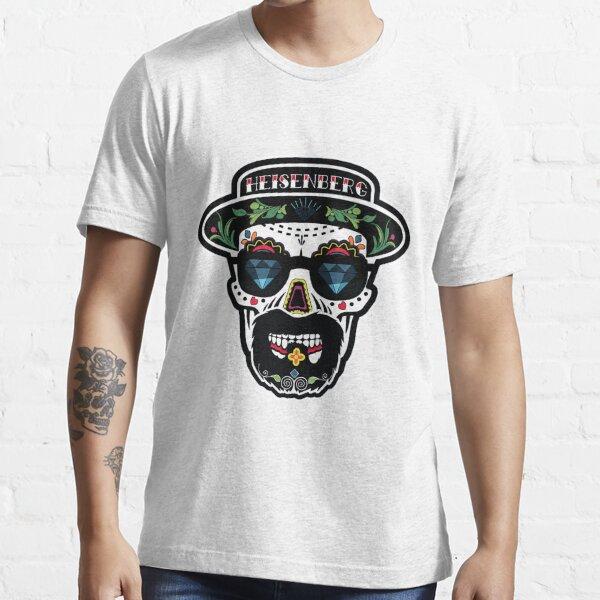 funny breaking bad Heisenberg sugar skull Harajuku  Essential T-Shirt