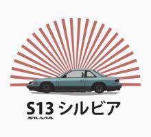 Nissan Silvia S13 - Rising Sun | Unisex T-Shirt