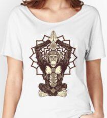 Chakra Monkey Tonight Women's Relaxed Fit T-Shirt