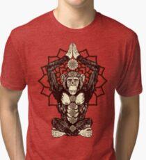 Chakra Monkey Tonight Tri-blend T-Shirt
