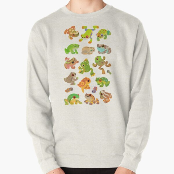 Tree frog Pullover Sweatshirt