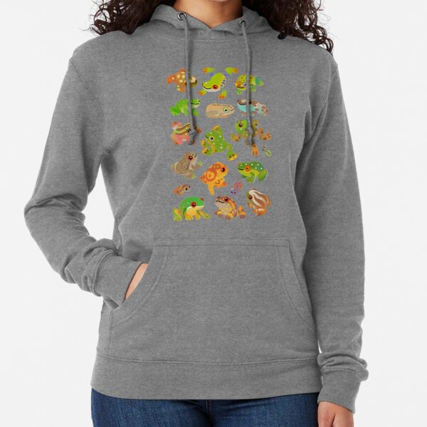 Tree frog Lightweight Hoodie