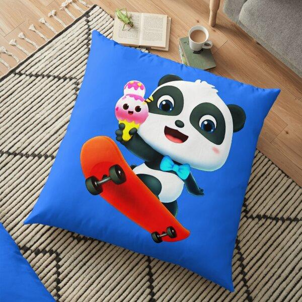 Kiki and Miumiu ♡ panda loves ice cream Floor Pillow