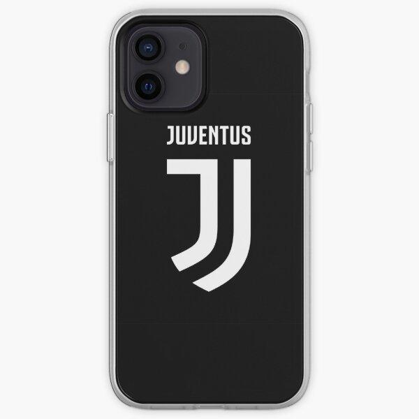 Juventus Logo Black and White iPhone Soft Case