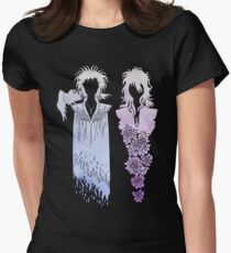 Death & Dream {Coloured} Women's Fitted T-Shirt