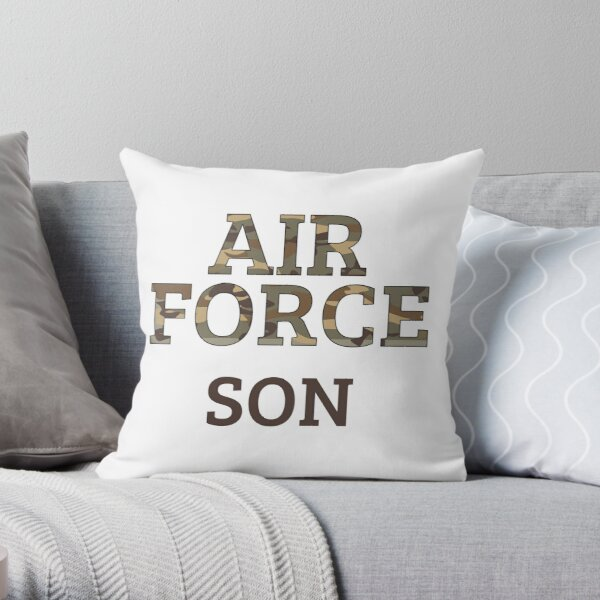 Navy Family Marine Family Army Family Proud Military Family Pillow Cover Air Force Family Custom Personalization