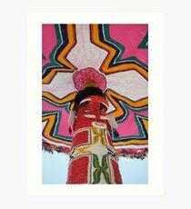 Indigenous Colors Art Print