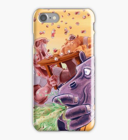 Feed the Hippos iPhone Case/Skin