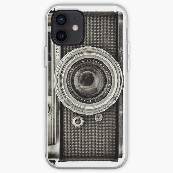 YASHICA_B&W iPhone Soft Case