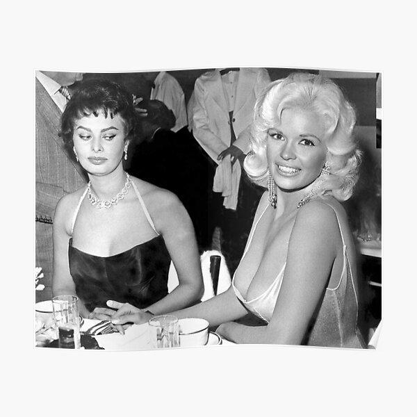 Jayne Mansfield and Sophie Loren Poster