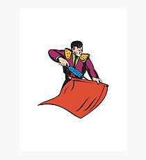 Bullfighter Matador Bullfighting Photographic Print
