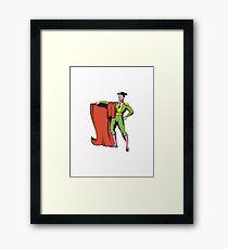 Bullfighter Matador Bullfighting  Framed Print