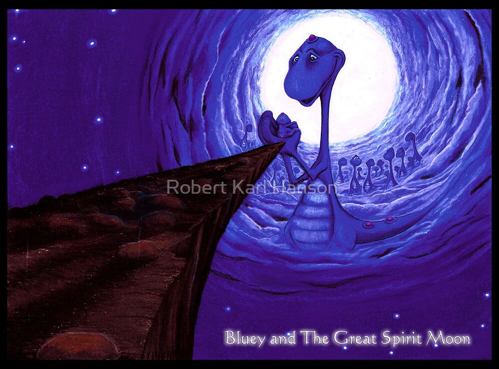 'Bluey's Father'  by Robert Karl Hanson