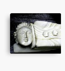 Asian Statuary Canvas Print
