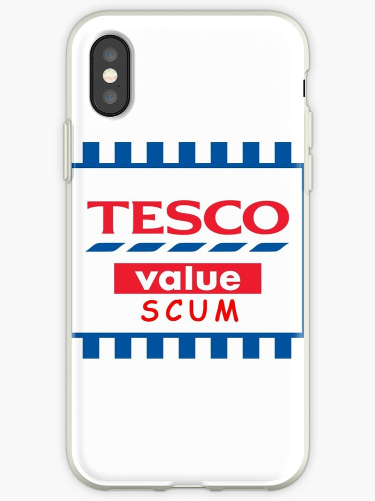 size 40 7f3e6 578cd 'Tesco Value Joke' iPhone Case by PipLadInc