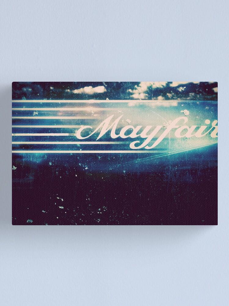 Alternate view of Mayfair Canvas Print