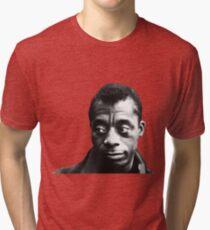 James Baldwin Tri-blend T-Shirt