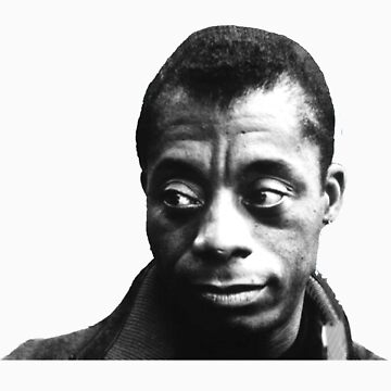 James Baldwin by bamanofski