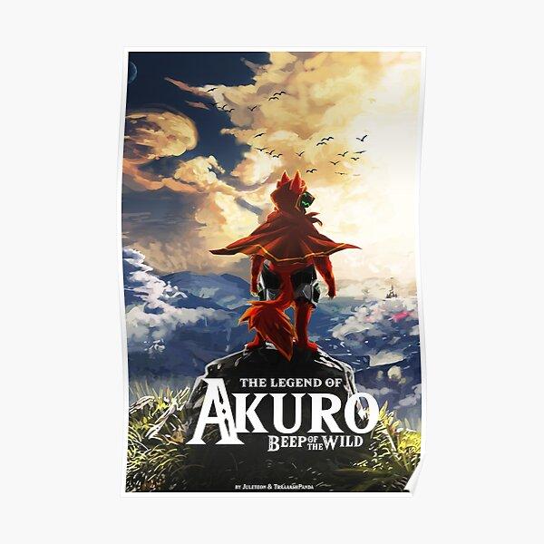 LEGEND OF AKURO Protogen Game Poster Poster