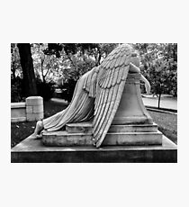 Even Angels Weep Photographic Print