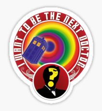 The Next Doctor Sticker