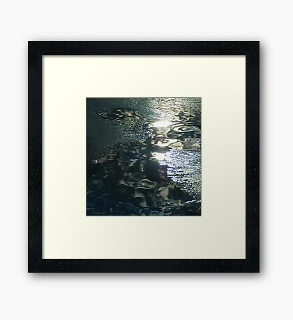 Contrast on Ice - IV Framed Print