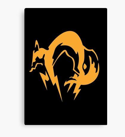 Metal Gear Solid - Fox Canvas Print