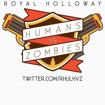 Humans Vs Zombies // Royal Holloway by sammatthews91