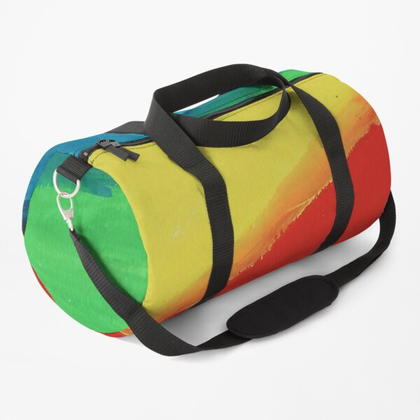 who shows a lot of interest in the process from painting to uploading an image. Duffle Bag