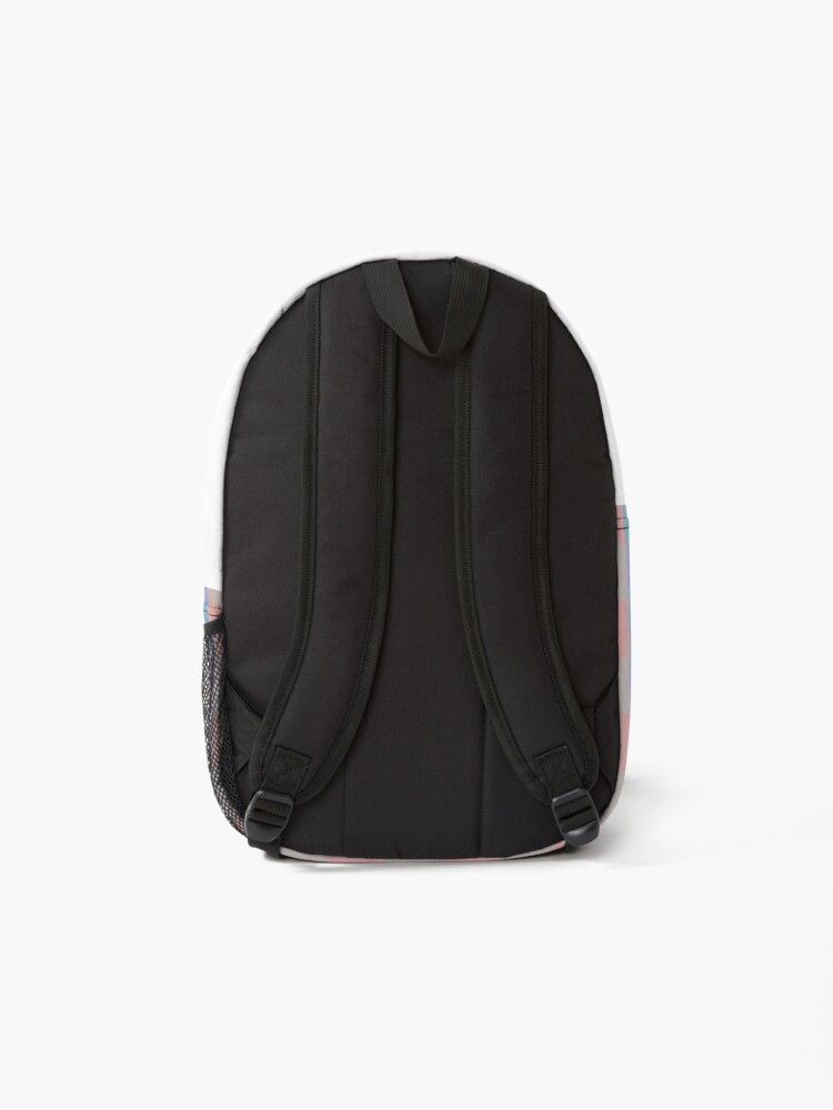 Alternate view of Pastel squares Backpack