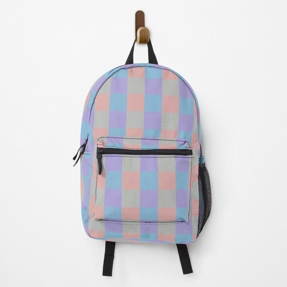 Pastel squares Backpack