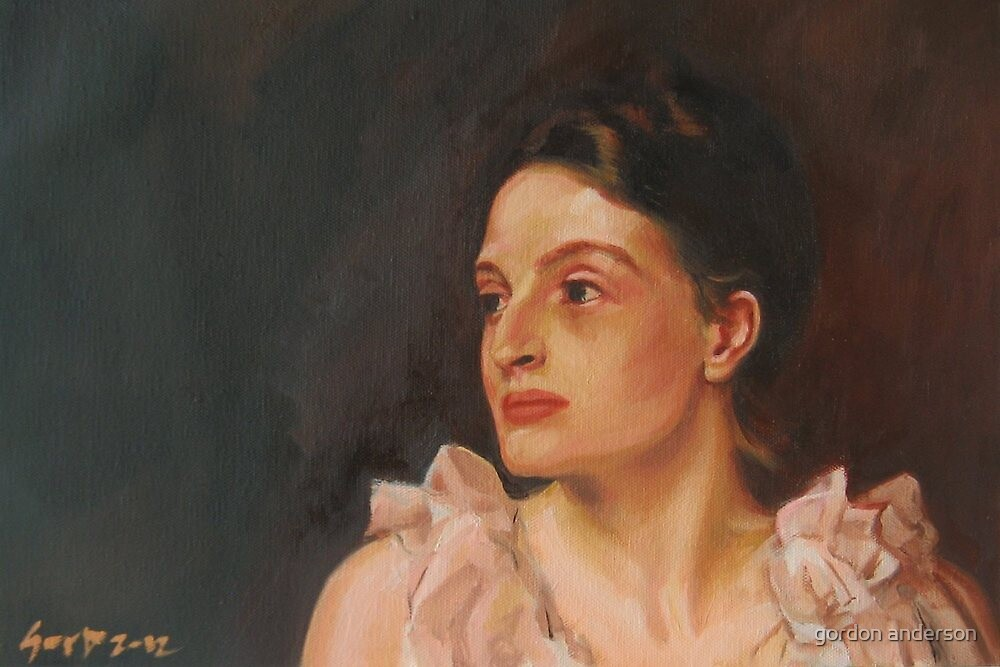 English Rose, after Sargent by gordon anderson