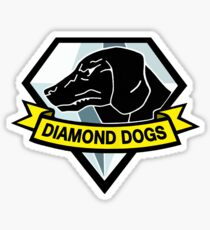 Metal Gear Solid - Diamond Dogs Sticker
