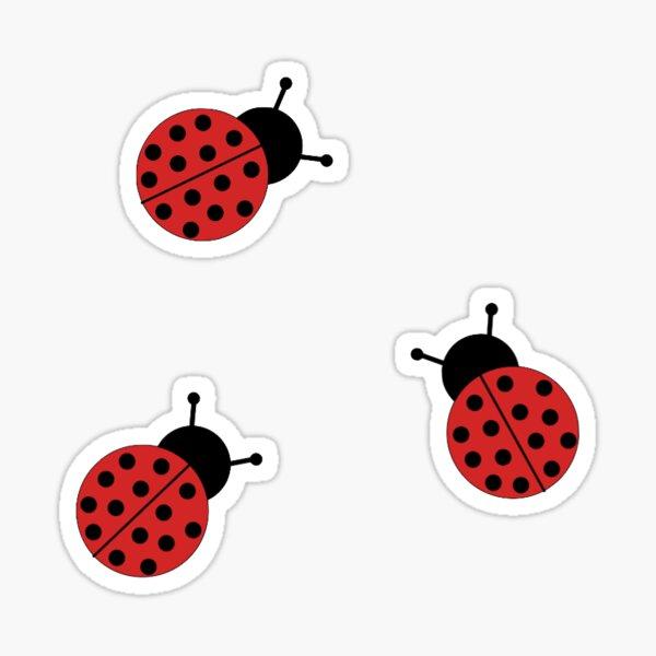 ladybug set Sticker