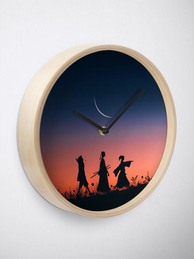 Alternate view of Samurai champloo classic walk Clock