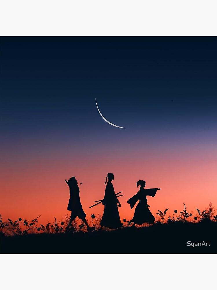 Samurai champloo classic walk by SyanArt