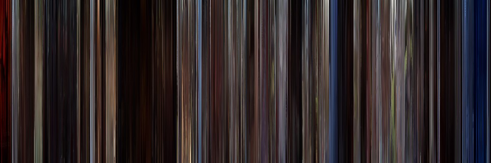 Moviebarcode: The Notebook (2004) by moviebarcode