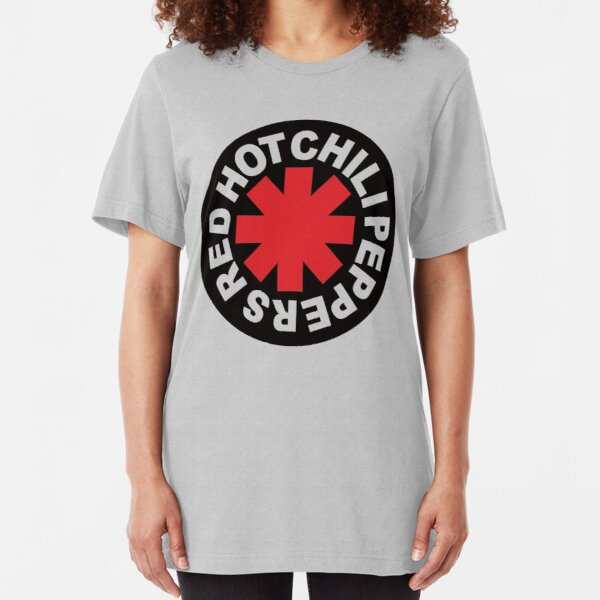red hot chili peppers shirt- slim fit t-shirt Slim Fit T-Shirt