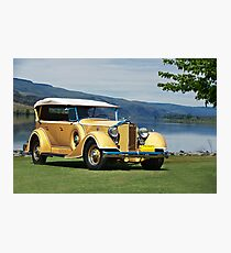 1934 Packard Touring Super Eight Photographic Print