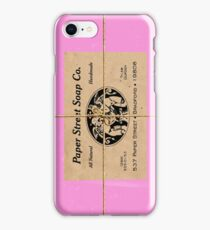 Paper Street Soap Company's soap (from Fight Club) iPhone Case/Skin