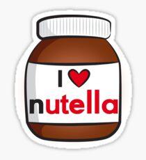 I <3 Nutella Sticker
