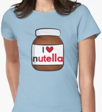 Camiseta entallada I <3 Nutella