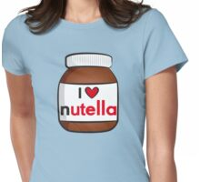 I <3 Nutella Womens Fitted T-Shirt
