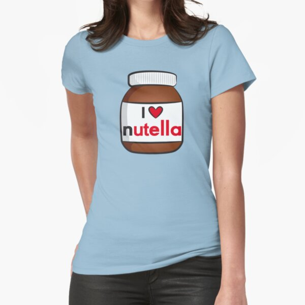 I <3 Nutella Fitted T-Shirt
