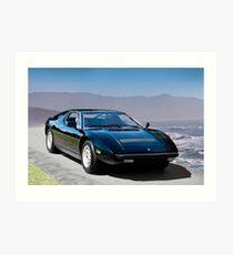 1980 Maserati Merak SS Art Print