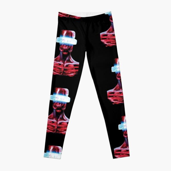 Red Alien Sci-Fi, Fantasy Character  Leggings